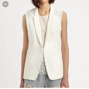 Rag & bone Women sleeveless blazer vest